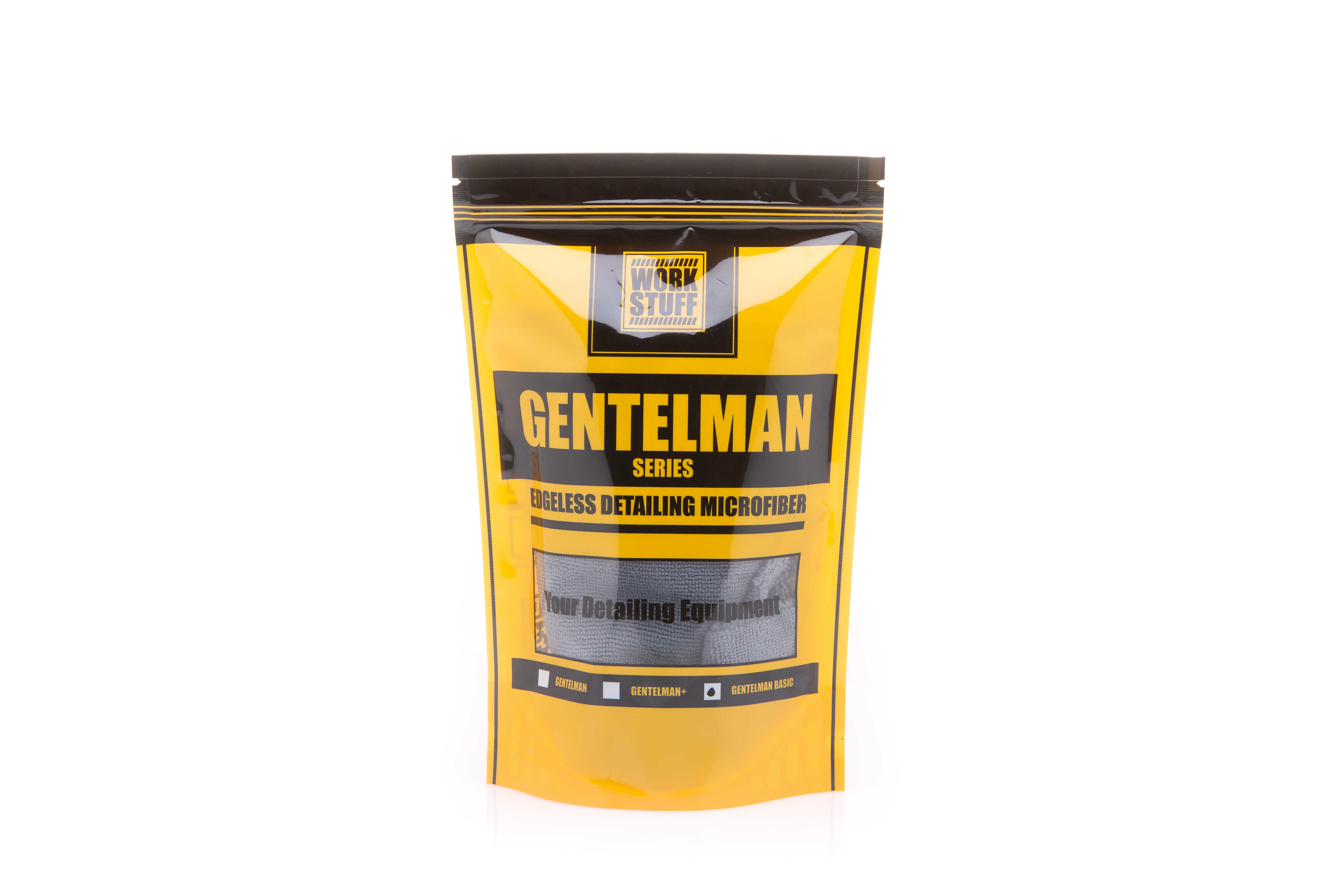 Krpa Gentleman Basic 350gsm 40x40 Dark Grey 70/30 Blend